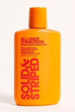All Over SPF 30 (3 Oz.) by Solid & Striped at Free People, One, One Size