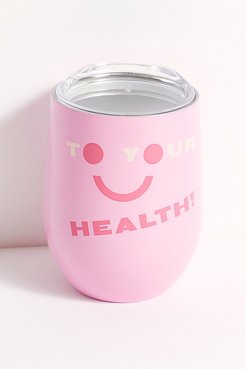To Your Health Cup by Ban. Do at Free People, Pink, One Size