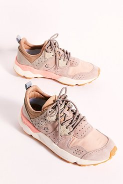 Wesley Suede Sneakers by Flower Mountain at Free People, Rose, EU 39