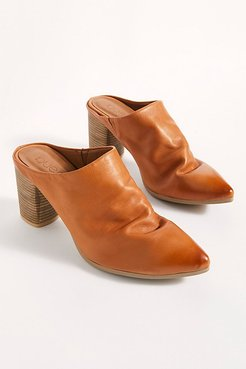 Avalon Point Mules by Bueno at Free People, Tan, EU 38