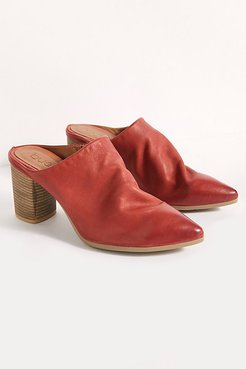 Avalon Point Mules by Bueno at Free People, Terracotta, EU 38