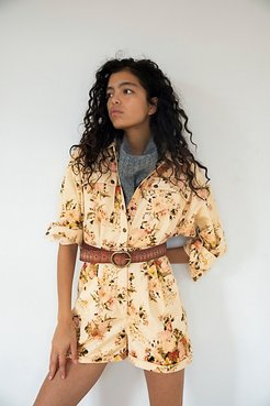 Tapestry Cord Romper by Free People, Tapestry Floral, US 4