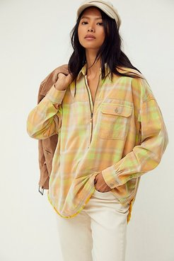 Polar Pullover by We The Free at Free People, Mango Combo, XS