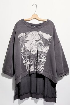 Paradise Francis Hi Lo Pullover by Magnolia Pearl at Free People, Ozzy, One Size