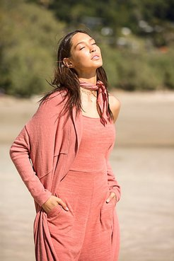 Cuddle Up Cardi by FP Beach at Free People, Cactus Tint, XS