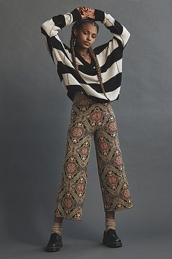 Sun In The West Pants by Free People, Black Magic Combo, XS