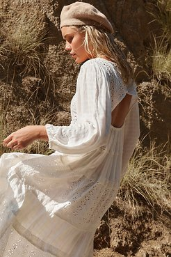 Mockingbird Maxi Dress by Free People, ivory, XS