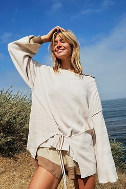 Brig Pullover by FP Beach at Free People, Washed Muslin, S