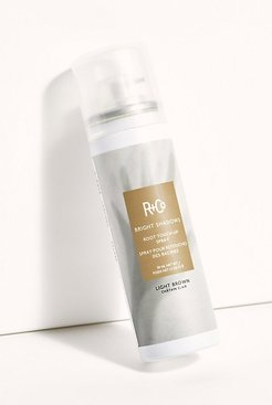 Bright Shadows Root Touch Up Spray by R+Co at Free People, Light Brown, One Size