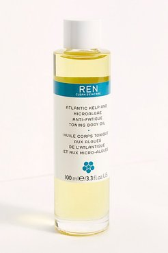 REN Atlantic Kelp Anti-Fatigue Toning Body Oil by REN Skincare at Free People, One, One Size