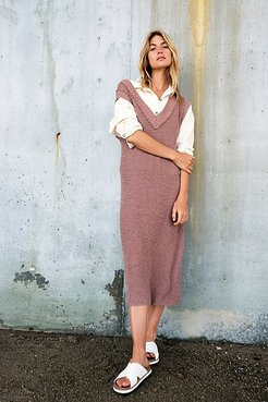 G2g Midi Dress by FP Beach at Free People, Plum Dust, L