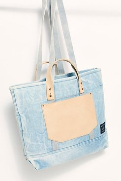 East-West Pocket Tote by Fleabg at Free People, Acid Wash, One Size