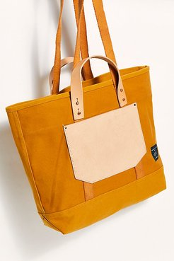 East-West Pocket Tote by Fleabg at Free People, Mustard Seed, One Size