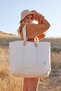 Large East-West Tote by Fleabg at Free People, Natural, One Size