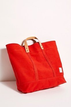 Large East-West Tote by Fleabg at Free People, Persimmon, One Size