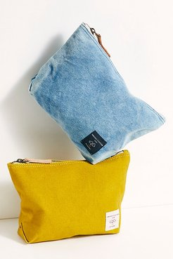 Sardine Pouch by Fleabg at Free People, Acid Wash, One Size