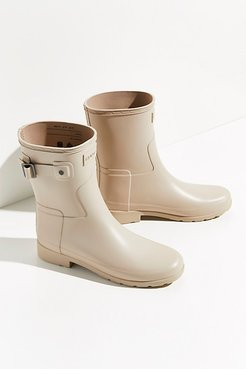 Refined Short Wellies by Hunter at Free People, Oat Grass, US 8