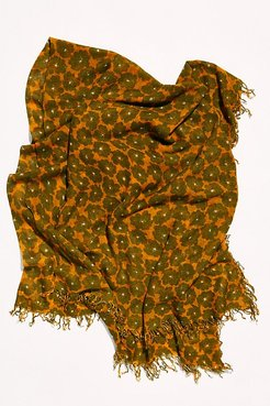 Meadow Cashmere Scarf by Chan Luu at Free People, Sunflower, One Size