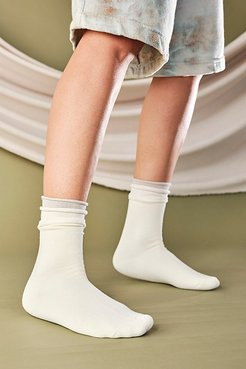 Recycled Pillow Socks 3-Pack by Lemons at Free People, Ivory, One Size