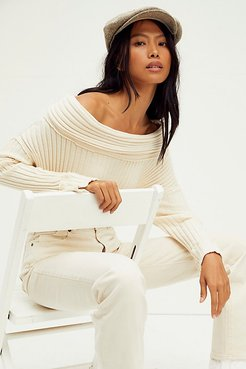 Stevie Pullover by FP Beach at Free People, Natural, XS
