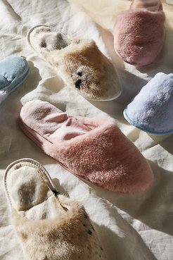 Spa Slide Aromatherapy Slippers by Pantuss at Free People, Dusty Pink, XS
