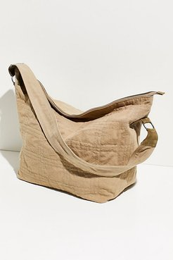 Ankara Stitch Tote by FP Collection at Free People, Eucalyptus, One Size