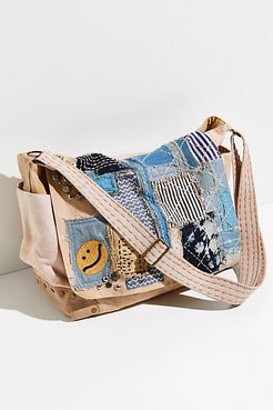 Home Run Messenger by FP Collection at Free People, Blush Combo, One Size