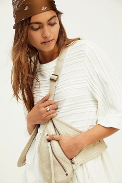 Olympia Leather Harness Bag by FP Collection at Free People, Putty, One Size