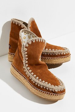 Jute Glacier Boots by MOU at Free People, Cog, EU 38