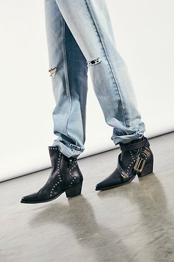Backstage Cowboy Boots by FP Collection at Free People, Black, EU 37