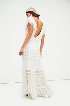Waterlily Maxi Dress by FP One at Free People, Alabaster, XS