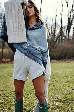 C.O.M.F.Y Shorts by Intimately at Free People, Dove Grey, XS