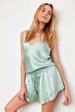 Need It Silk Tank by Intimately at Free People, Succulent, S