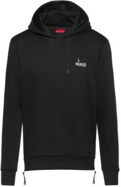 BOSS - Relaxed Fit Sweatshirt With Berlin Inspired Artwork - Black
