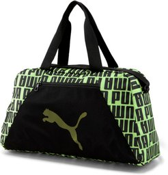 AT Essentials Grip Bag in Black/Fizzy Yellow