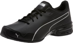 Super Levitate Men's Running Shoes in Black/Aged Silver, Size 7