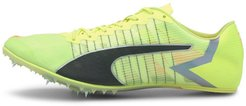 evoSPEED Tokyo Future Track Spikes Shoes in Fizzy Yellow/Black/Nrgy Peac, Size 11