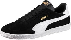 Astro Cup Suede Men's Sneakers in Black/White, Size 4