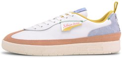 x KIDSUPER STUDIOS Oslo-City Sneakers in White/Peach Beige, Size 4