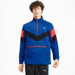 Reactive Men's Packable Jacket in Galaxy/Black/Nrgy Red, Size M