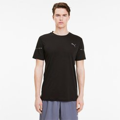 Runner ID Thermo R+ Men's T-Shirt in Black, Size L