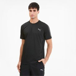 Power Thermo R+ Men's Training T-Shirt in Black, Size M
