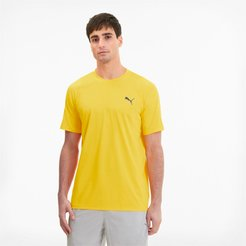 Power Thermo R+ Men's Training T-Shirt in Ultra Yellow, Size XS