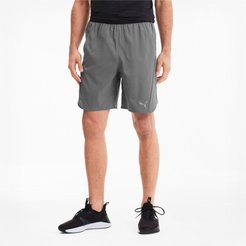 Power Thermo R+ Vent Men's Training Shorts in Grey, Size S