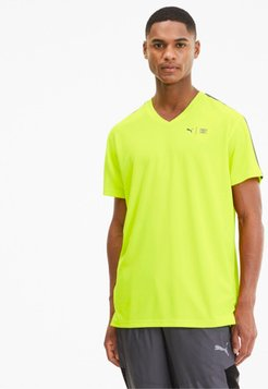 x FIRST MILE Men's Training T-Shirt in Yellow Alert, Size S