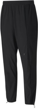 x FIRST MILE Mono Texture Men's Training Pants in Black, Size XL