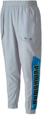 x FIRST MILE Xtreme Men's Training Pants in Grey/Violet, Size M