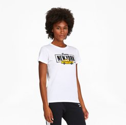 NYC Taxi Women's T-Shirt in White, Size XXL