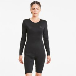 Tailored for Sport Women's Fashion Unitard in Black, Size S