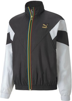 Tailored for Sport WH Men's Track Jacket in Black, Size M